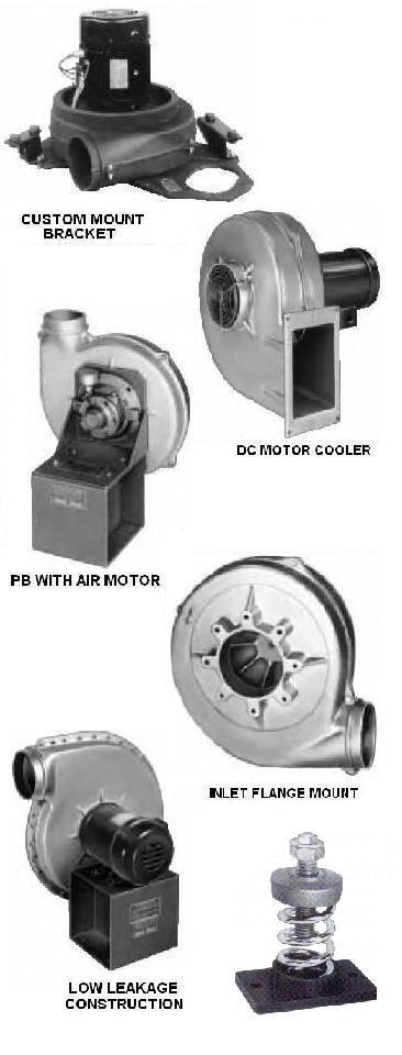 Cast Aluminum Blowers : Cast aluminum pressure blower
